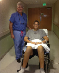 Dr. Bartlett with Gavin