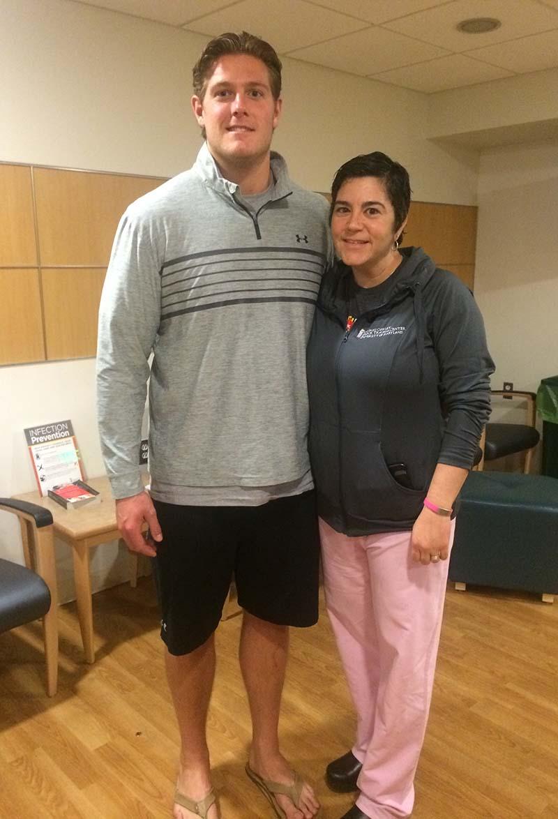 Nurse Amy and Gavin