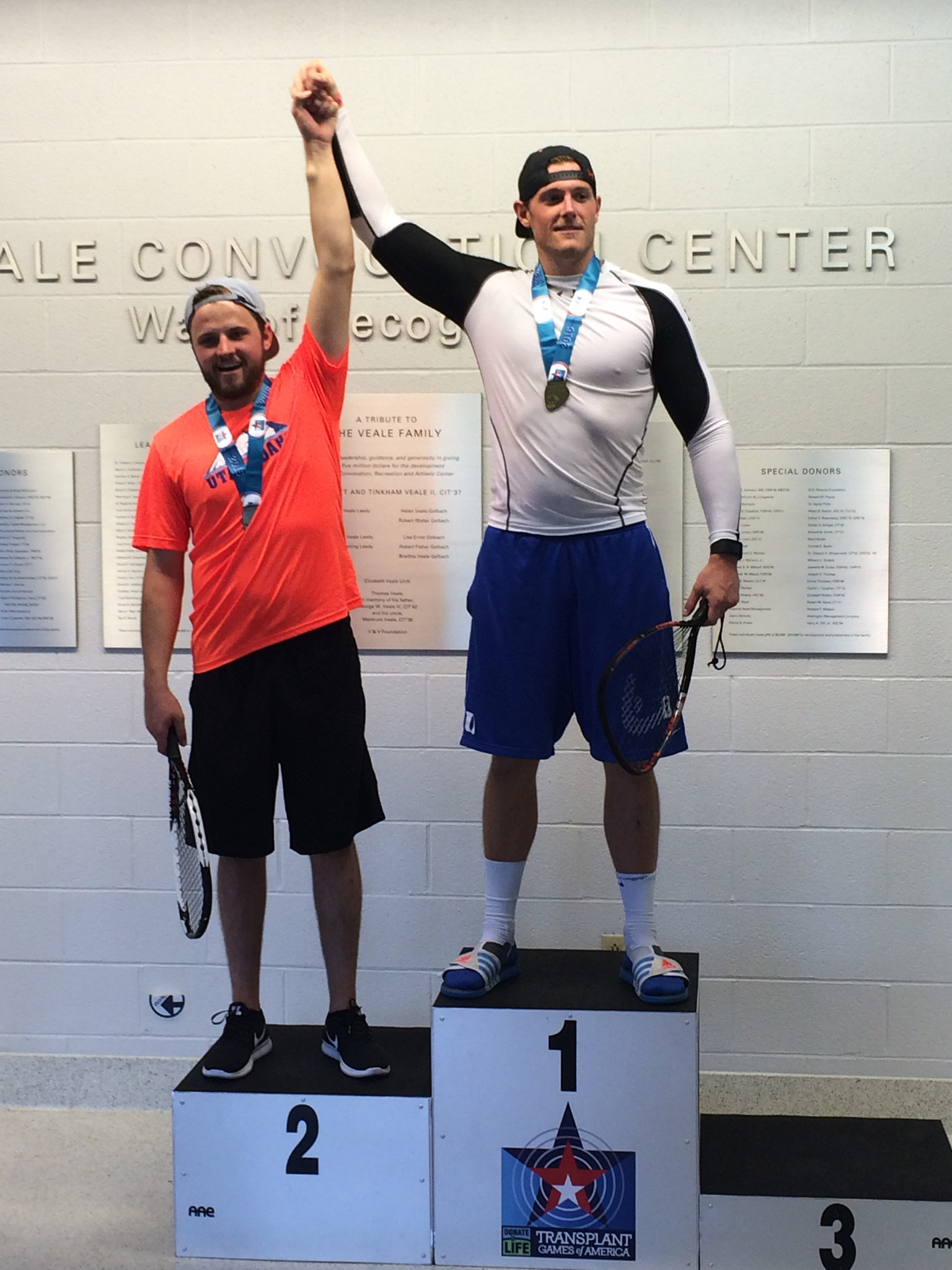 Racquetball Gold Medal- Transplant Games of America